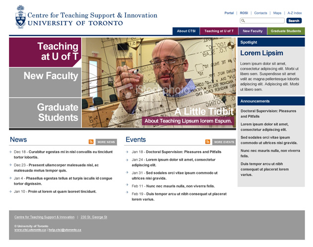 Centre for Teaching Support & Innovation